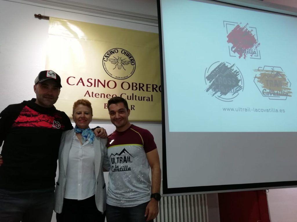 Presentación III edición ULTRAIL LA COVATILLA en el Casino Obrero de Béjar