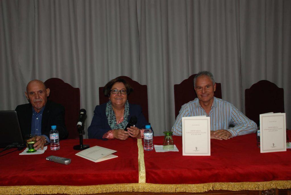 Antonio Avilés, Josefa Montero y Mario Melul