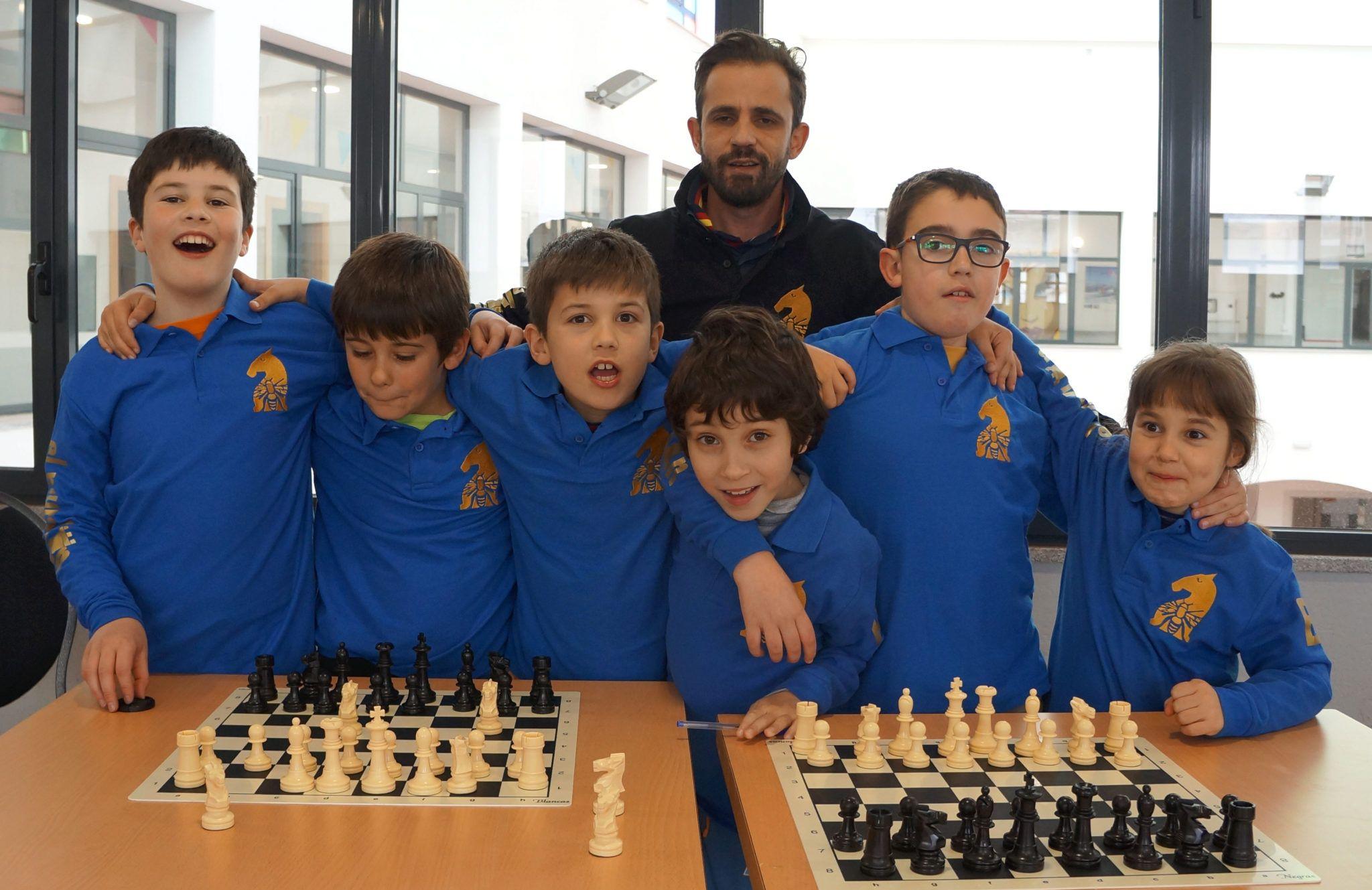 escuela municipal de ajedrez del Club Ajedrez Béjar