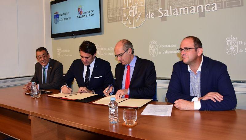 Junta y Diputación prestarán apoyo a los pequeños municipios para actualizar su planeamiento urbanístico
