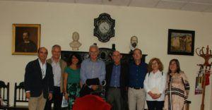 Hermanos Melul y miembros del CIFP