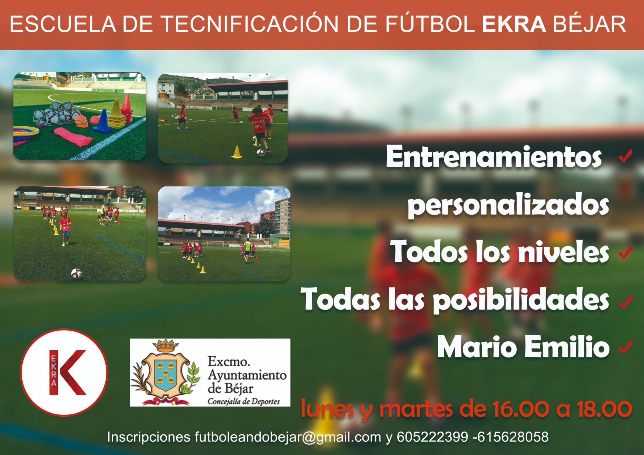 Presentada la escuela de tecnificación de fútbol para este curso escolar 2018/2019