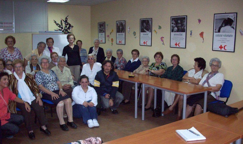 Mayores en Cruz Roja