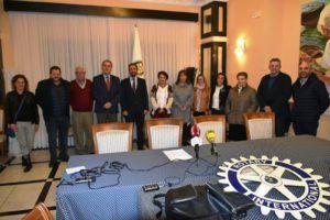 Presentación de las ayudas escolares Rotary Béjar - la Caixa