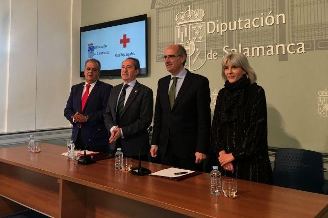 Diputación y Cruz Roja refuerzan su colaboración para el acompañamiento y apoyo escolar de personas vulnerables