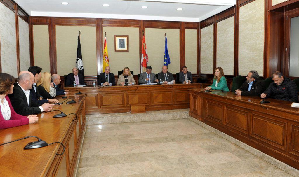 La consejera de economía y hacienda presenta el programa territorial de fomento 2019-2021 para Béjar