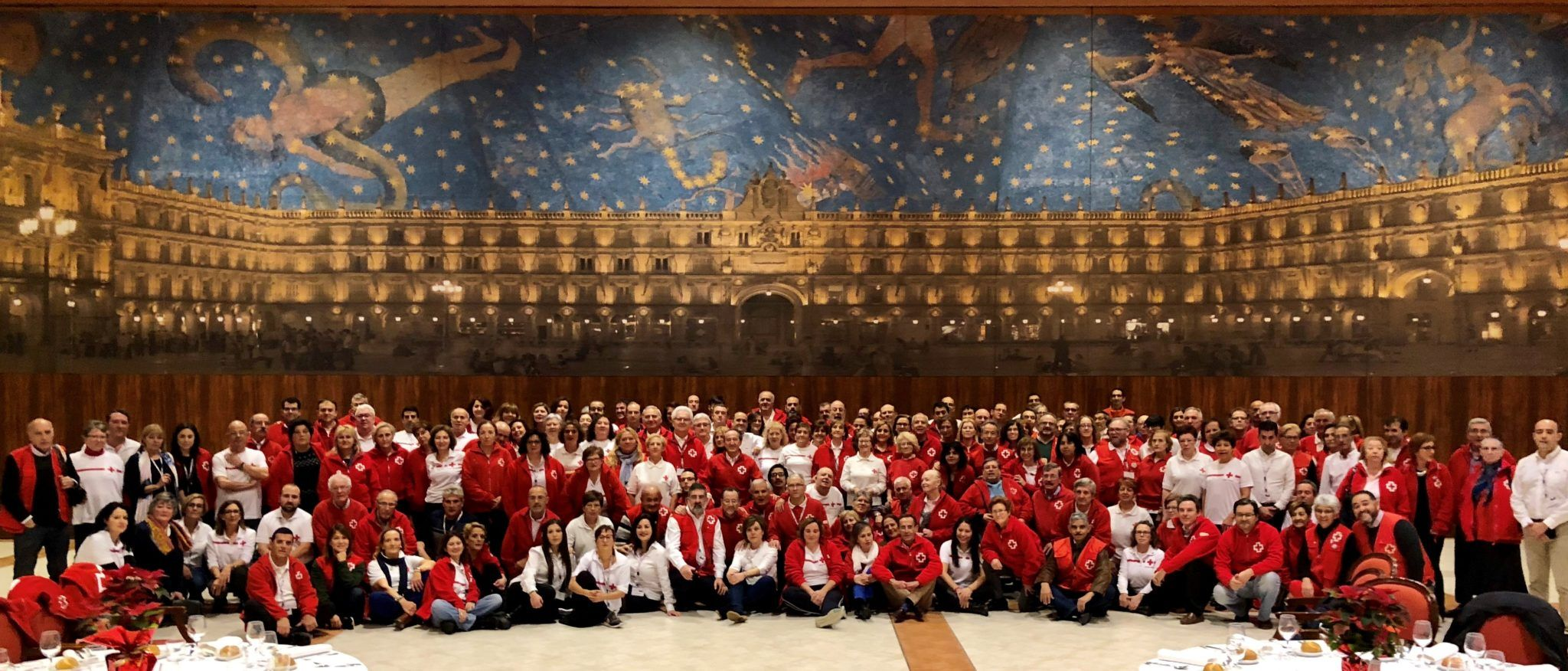 Más de 200 personas voluntarias de Cruz Roja Española en Castilla y León se reúnen en Salamanca