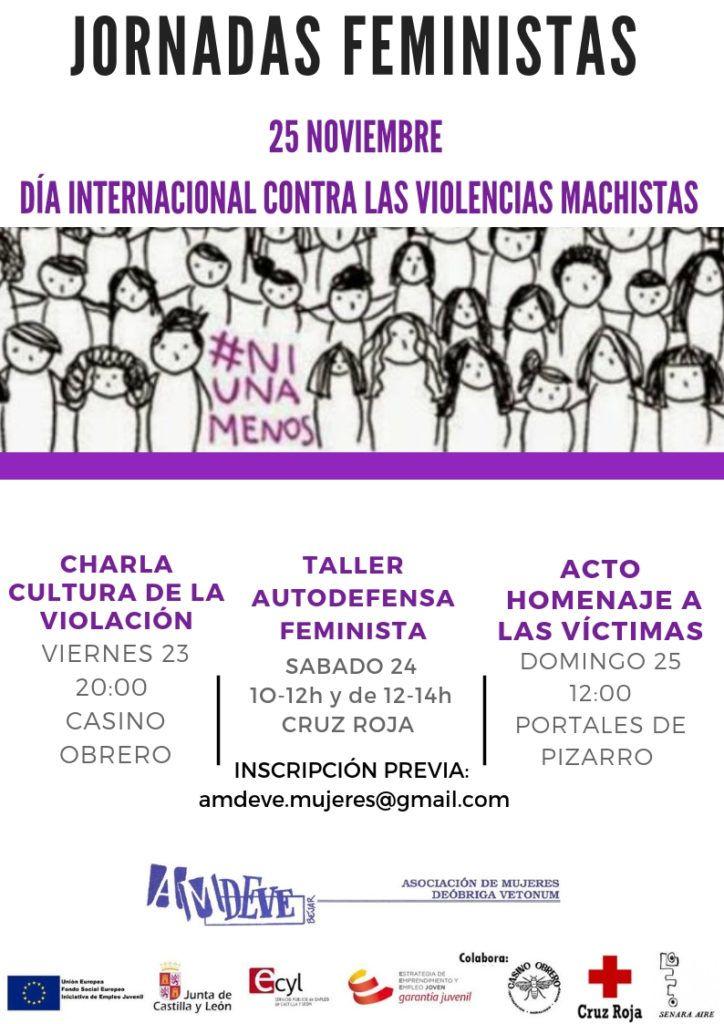 Amdeve organiza unas jornadas feministas contra las violencias machistas en Béjar