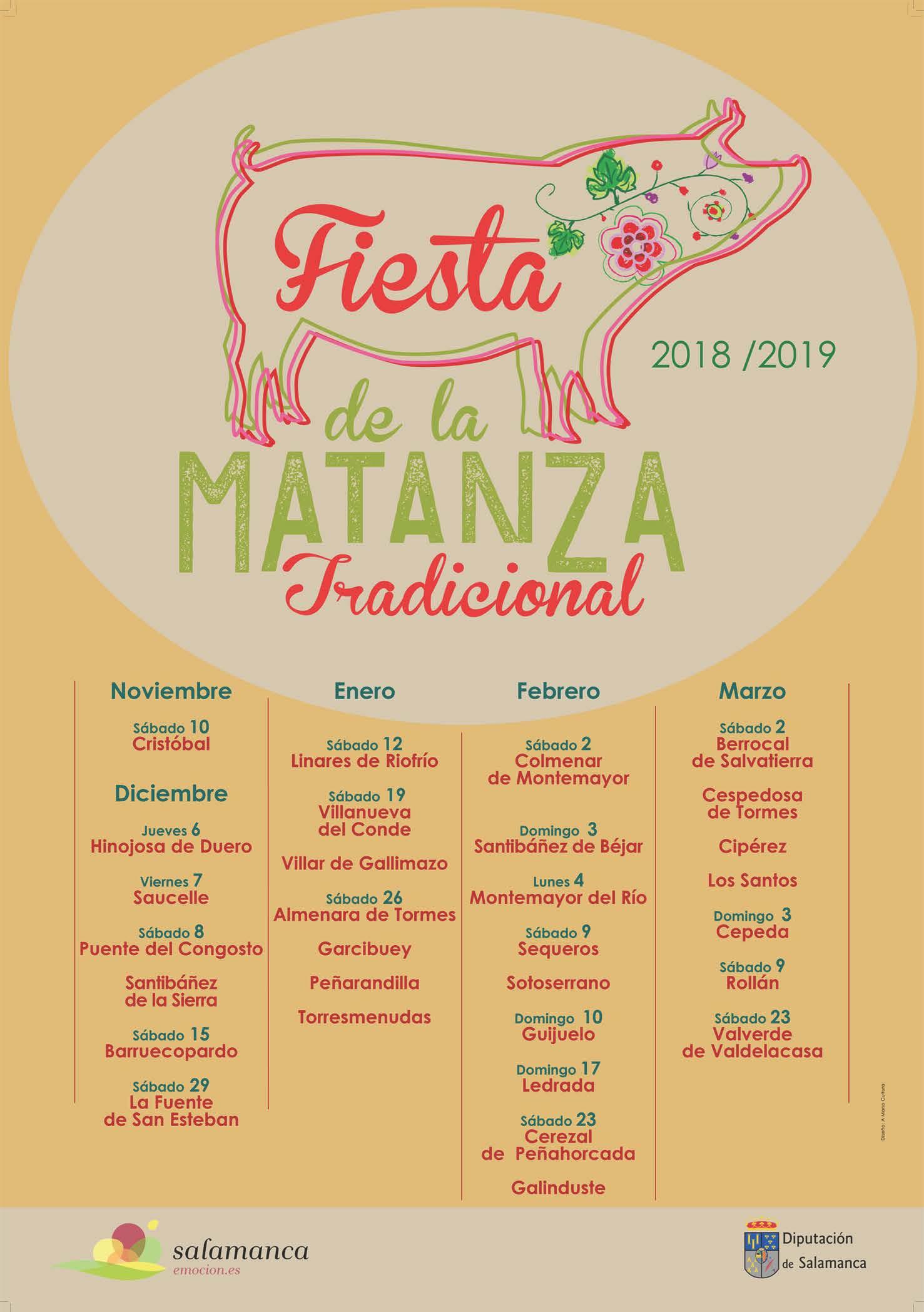 Presentado el cartel de los municipios participantes en la III Fiesta de la Matanza Tradicional
