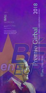 Presentación del Premio Girbal en el Casino Obrero de Béjar el viernes 9 de noviembre a las 20 horas