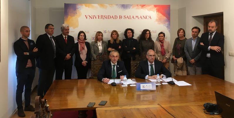 Diputación y Usal presentan los proyectos de la III Convocatoria de Investigación sobre el sector primario 'VIII Centenario'