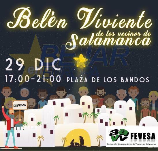Salamanca disfrutará de nuevo de su BELÉN VIVIENTE REIVINDICATIVO - Fevesa