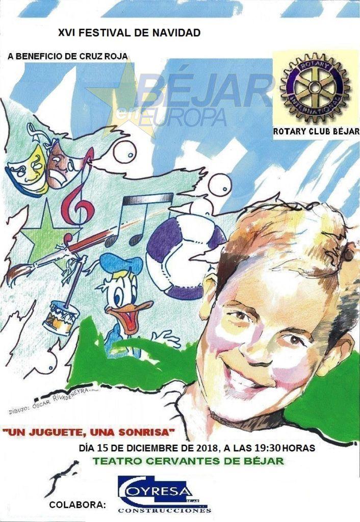 XVI Festival de Navidad del Rotary Club de Béjar
