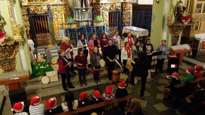 Concierto de Navidad en Peñaranda en 2017