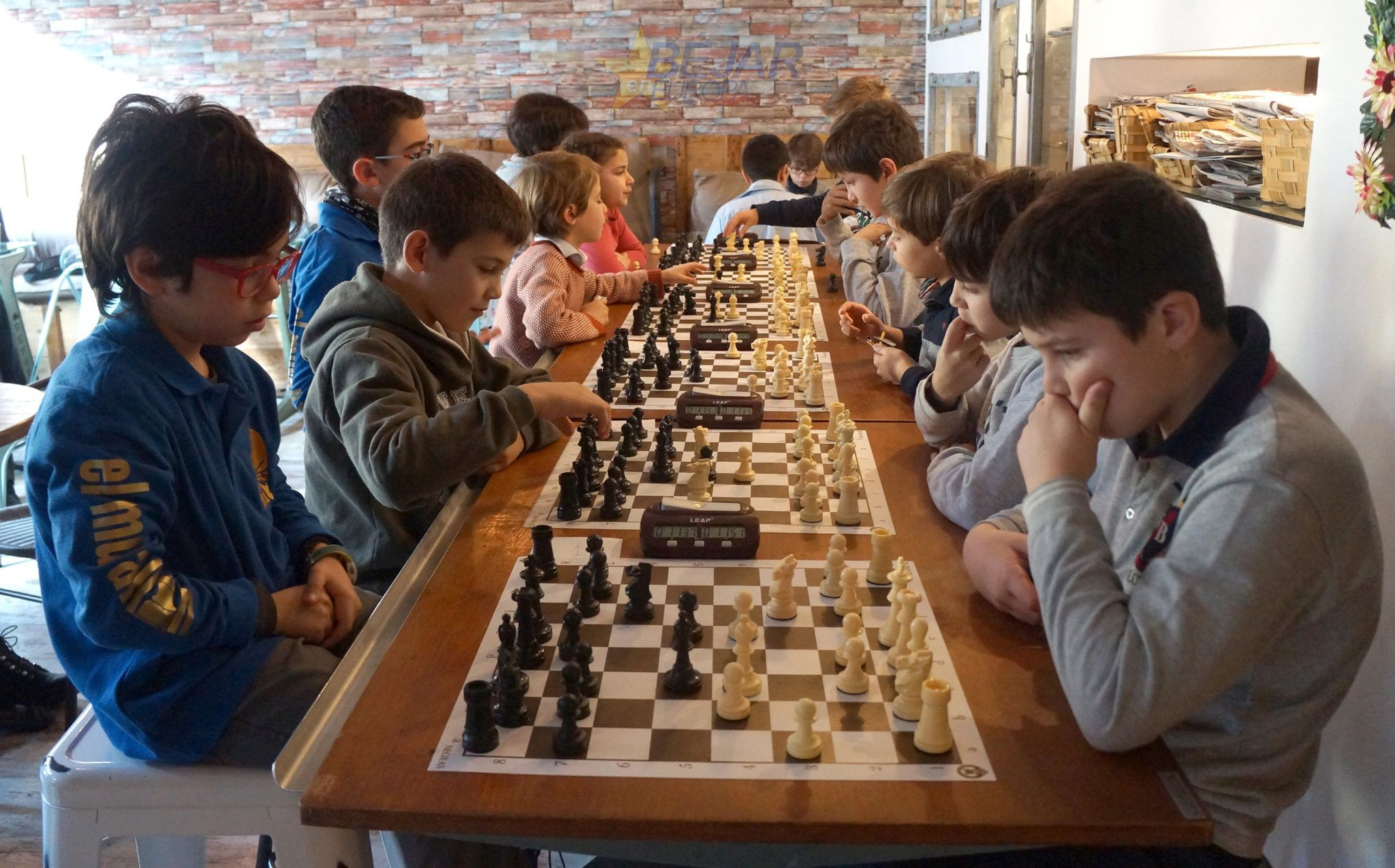 Ángel Francés gana el II torneo navideño de Ajedrez en el Murallón