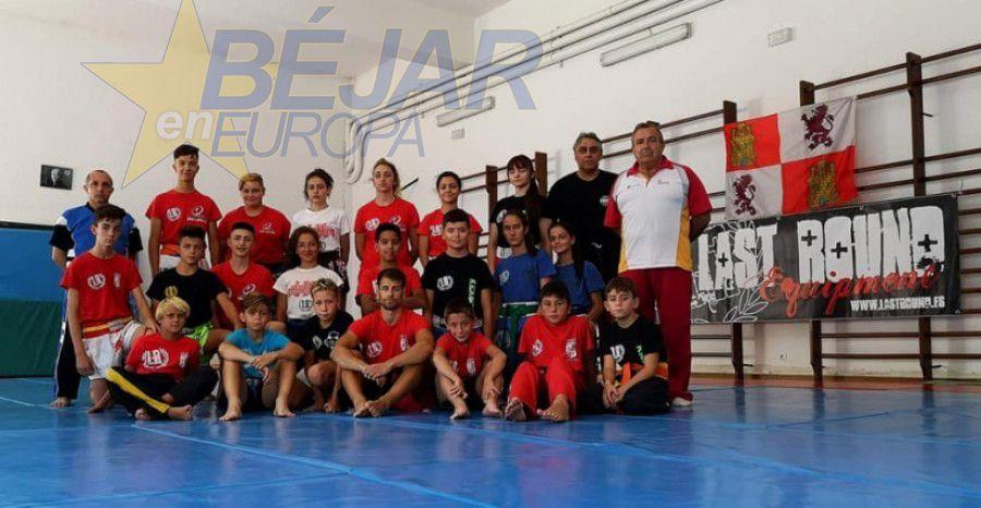 El Kickboxing CyL se reúne en Llano Alto para un campus de tecnificación