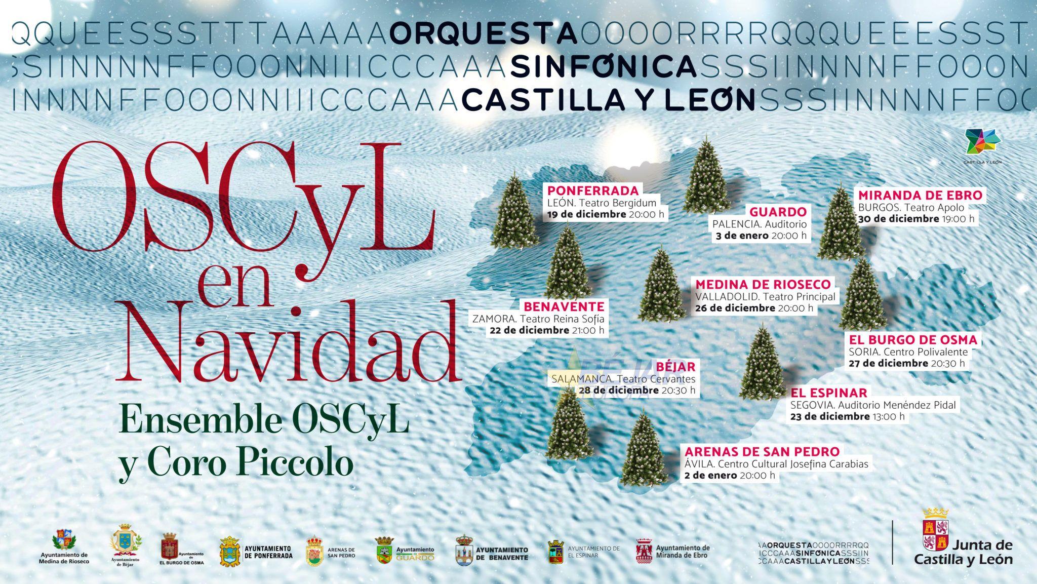La gira 'Oscyl en Navidad' sigue su periplo por la comunidad con un concierto en Béjar
