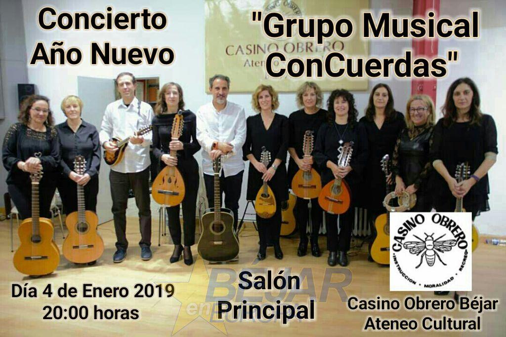 """Concierto Año Nuevo """"Grupo Musical ConCuerdas"""""""