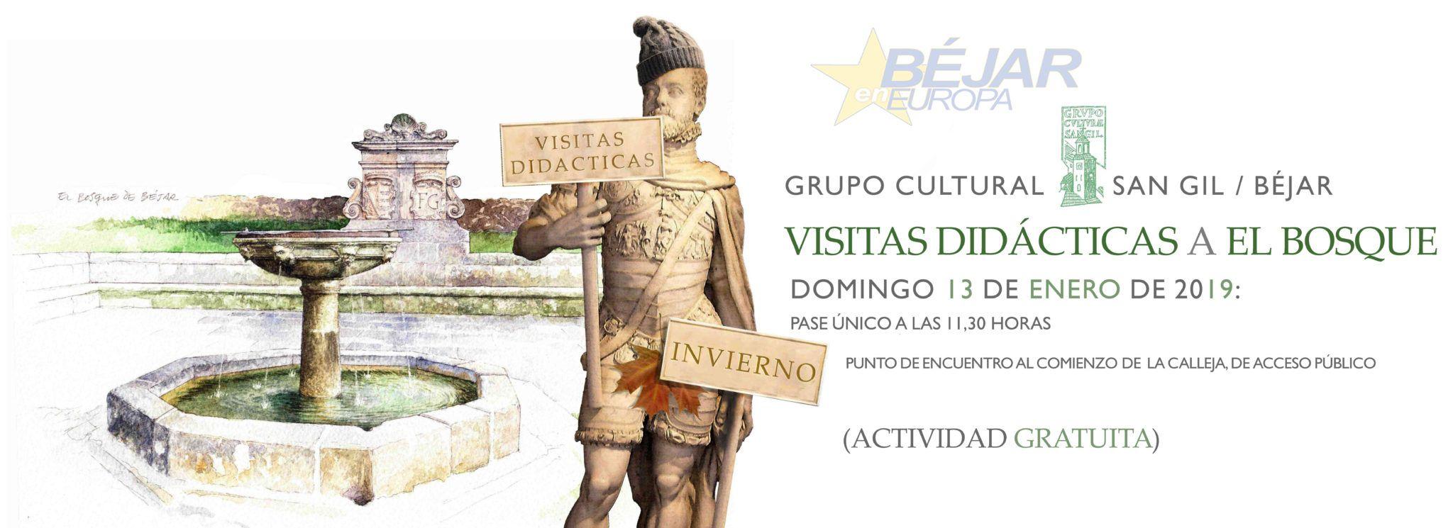 El Grupo Cultural San Gil organiza una visita guiada a El Bosque, el día 13