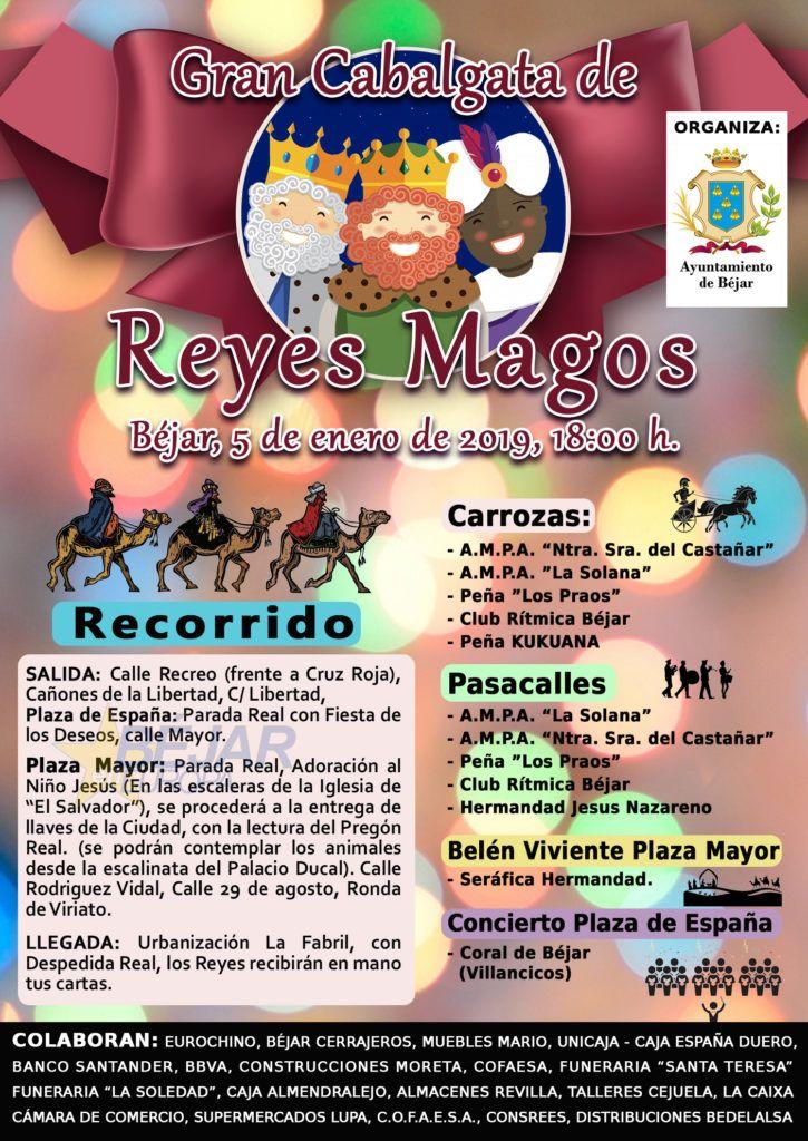 Cartel Cabalgata Reyes 2019