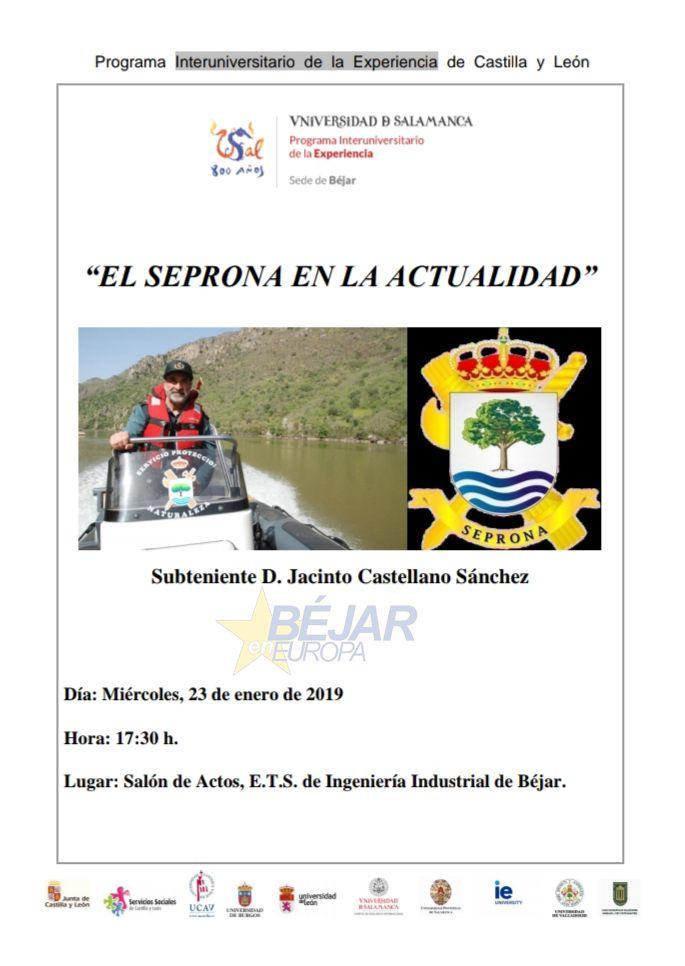"""La Universidad de la Experiencia organiza una charla sobre """"El SEPRONA en la actualidad"""""""