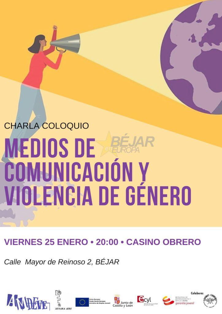 """Amdeve organiza una conferencia titulada """"Medios de comunicación y violencia de género"""""""