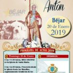 Cartel San Antón 2019