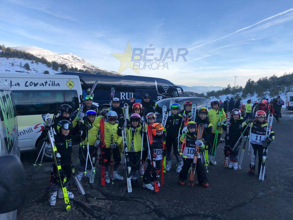 Alevines Club Esquí La Covatilla