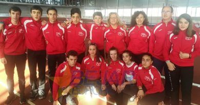 El Club Atletismo Bejarano consigue varias medallas en la final escolar de pista cubierta