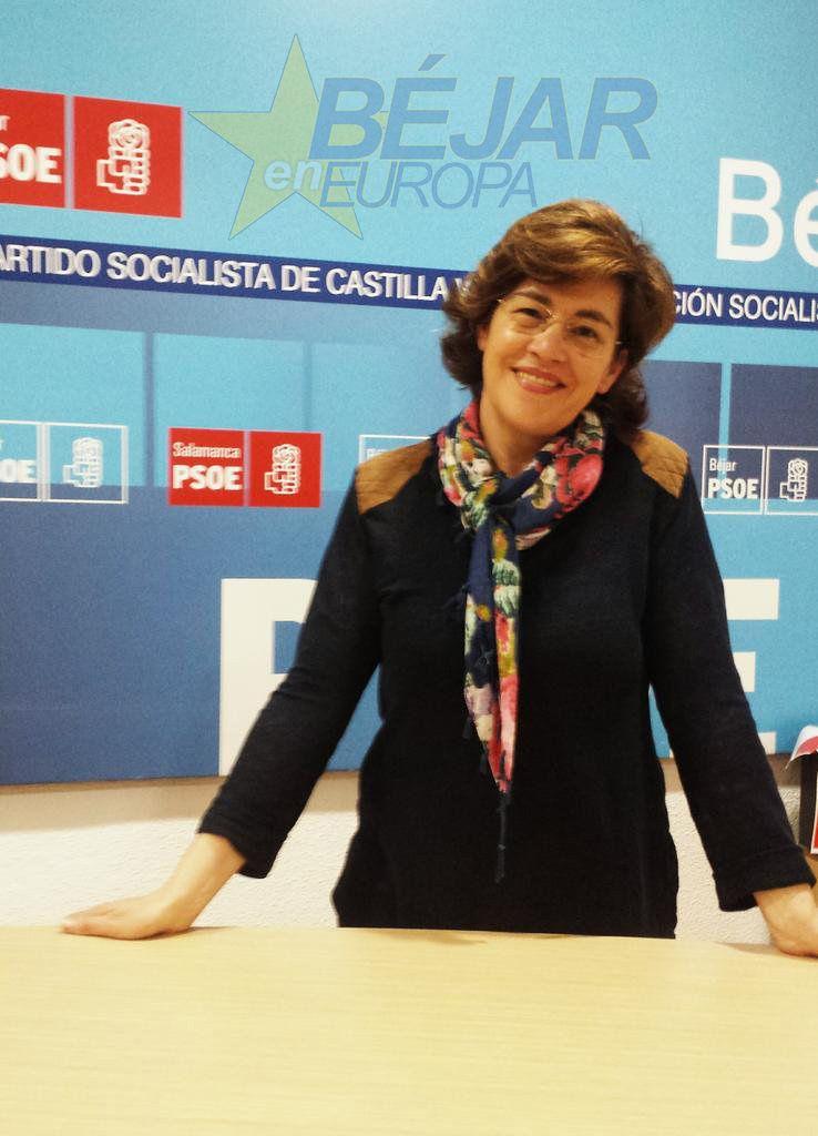 Elena Martín elegida por unanimidad candidata del PSOE a la alcaldía de Béjar
