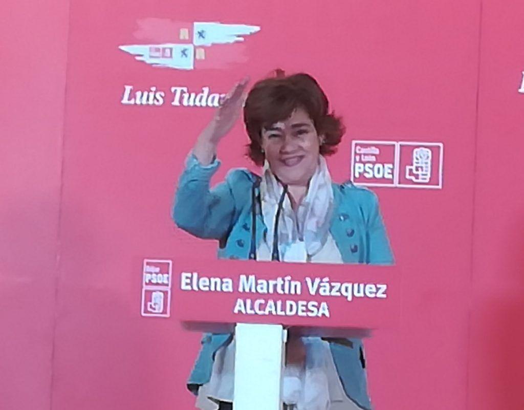 VÍDEO   Presentación de Elena Martín Vázquez, candidata del PSOE a la alcaldía de Béjar