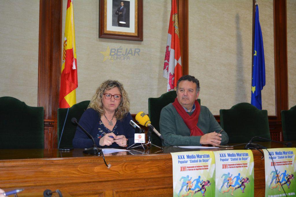 """Presentada la 30 edición de la Media Maratón Popular """"Ciudad de Béjar"""""""