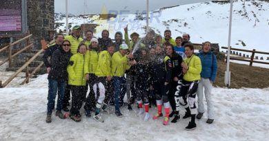 Exitoso papel del equipo de infantiles del Club de Esquí La Covatilla en los Campeonatos de CyL