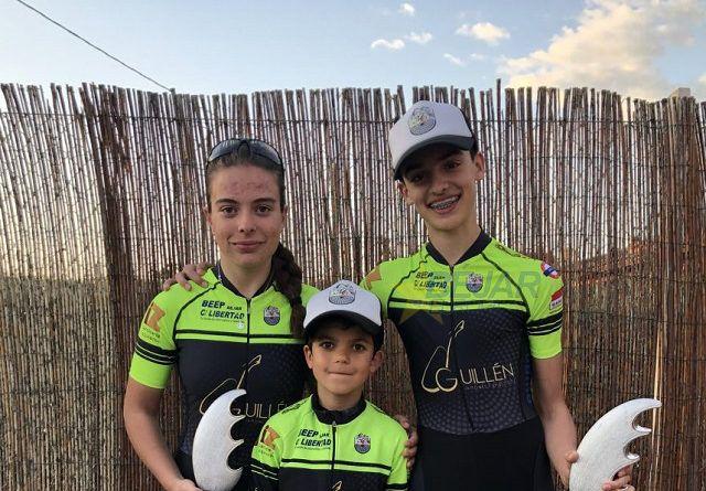 Tres podium para la Escuela de Ciclismo Bejarana en Soto de Cerrato