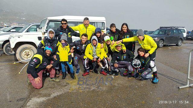El Club de esquí la Covatilla ha terminado su temporada de competiciones