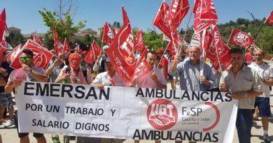 Los trabajadores de ambulancias aprueban movilizaciones