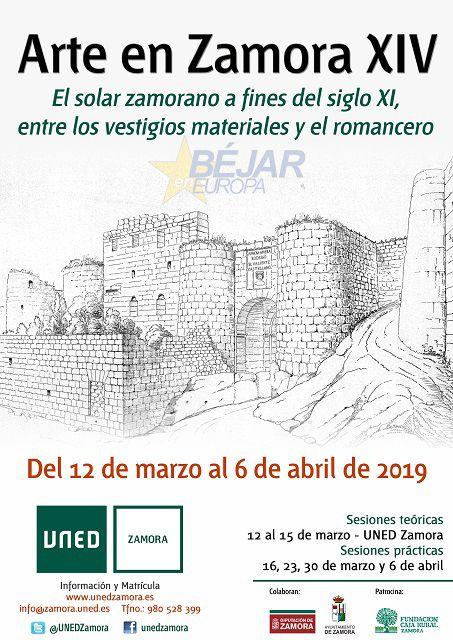 """Curso en la Uned """"Arte en Zamora XIV"""""""