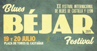 El Festival Internacional de Blues celebrará en Béjar su vigésima edición