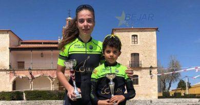 Natalia Ovejero y David Martín triunfan en Aranda