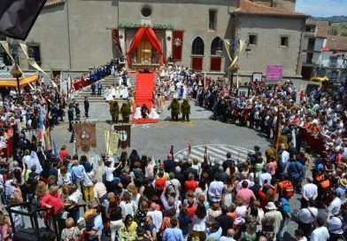 IMÁGENES | Béjar celebra su primer Corpus Christi con la declaración de Fiesta de Interés Turístico Internacional