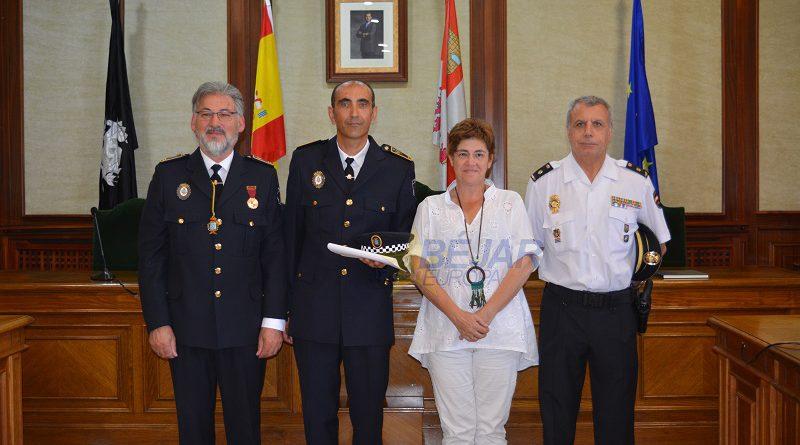 Rafael Tomás Martín Alonso nuevo Oficial de la Policía Local de Béjar
