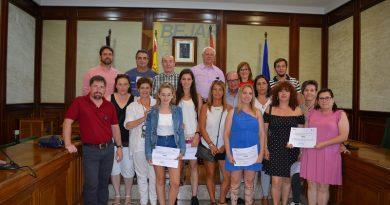 Clausura el Programa Mixto de Formación y Empleo de carpintería y pintura MARQUÉS DE VALERO II