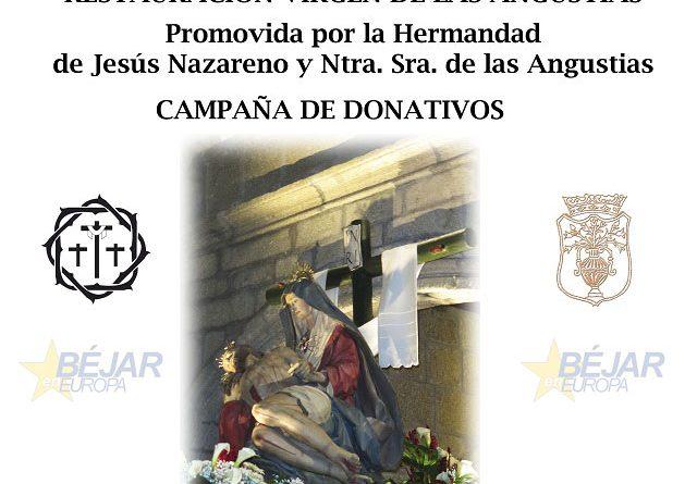 La imagen de la Virgen de las Angustias parte hacia el Centro de Conservación y Restauración de Bienes Culturales