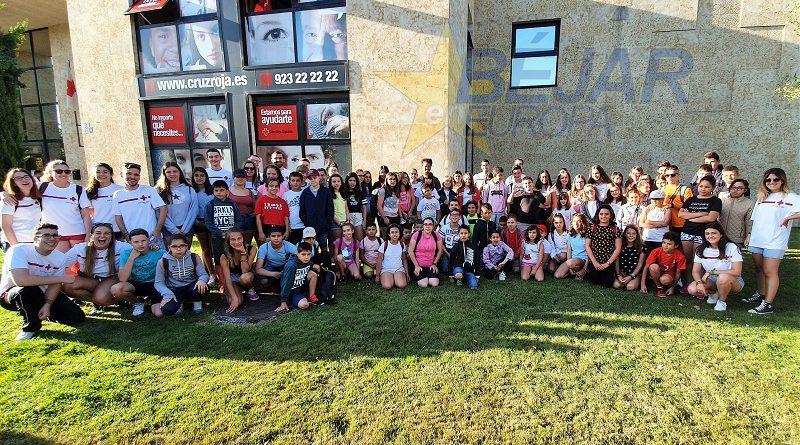 Cruz Roja Juventud en Salamanca Comienza el Campamento de Verano 2019