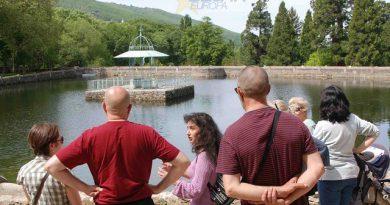 Visita didáctica del Grupo Cultural San Gil en El Bosque