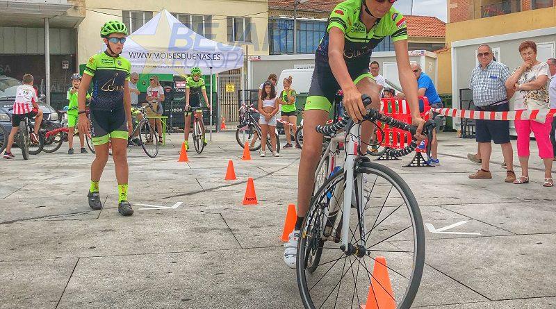El ciclismo base reina en Ledrada y Guijuelo