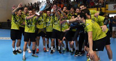 Ademar tricampeón de la Copa - Daniel Pérez