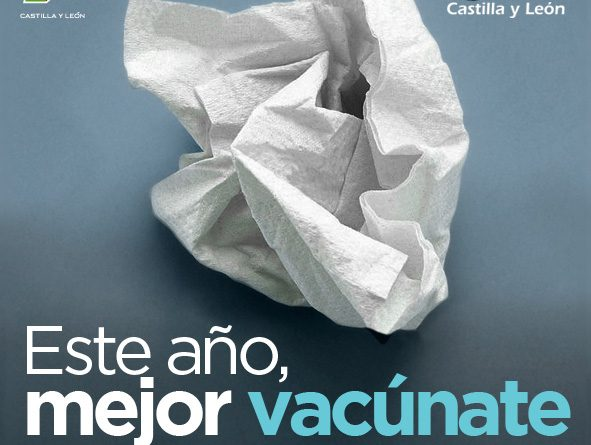 Los castellanos y leoneses podrán vacunarse frente a la gripe entre el 29 de octubre y el 13 de diciembre