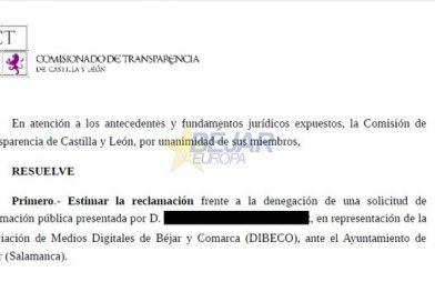 El PP denegó de forma indebida información pública a DIBECO