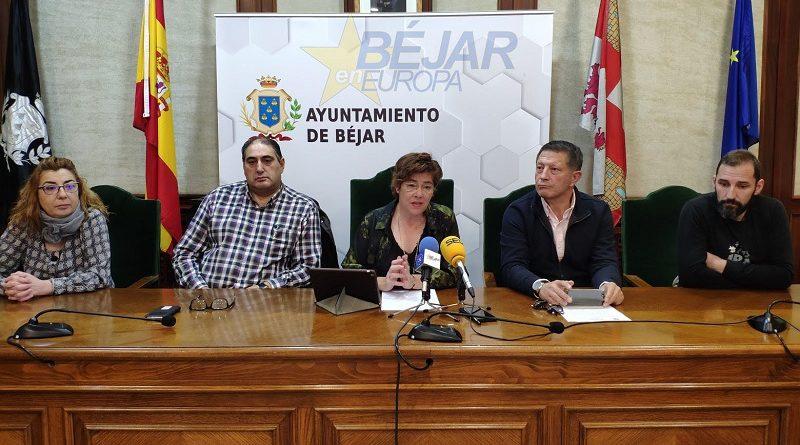 Alcaldes zona de salud Béjar